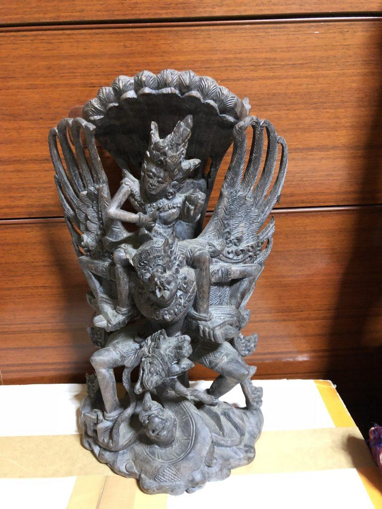 【三重県桑名市】木彫・観音像(金属)・版画のお買取りをいたしました。